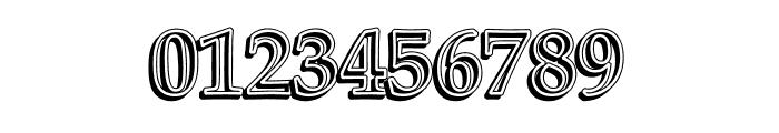 UKIJ Kawak 3D Bold Font OTHER CHARS
