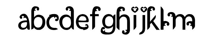 Ukiran Jawi Font LOWERCASE