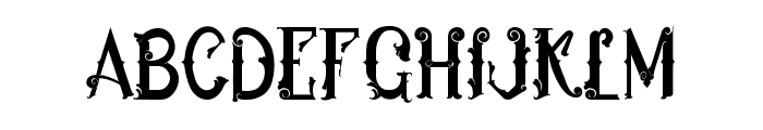 Ukiran Font LOWERCASE