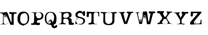 uknowjack Font UPPERCASE