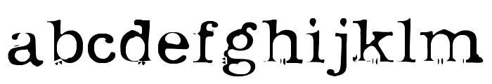 uknowjack Font LOWERCASE