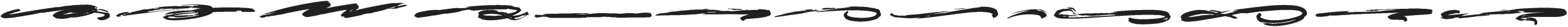 ULTRA BRUSH SWASH Regular otf (900) Font LOWERCASE