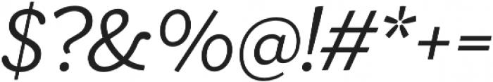 Ulises Book Italic otf (400) Font OTHER CHARS