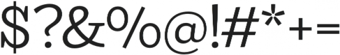 Ulises Book otf (400) Font OTHER CHARS