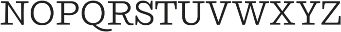 Ulises Book otf (400) Font UPPERCASE