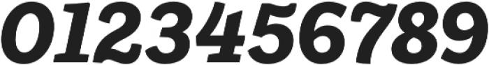 Ulises Extra Bold Italic otf (700) Font OTHER CHARS