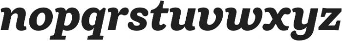 Ulises Extra Bold Italic otf (700) Font LOWERCASE