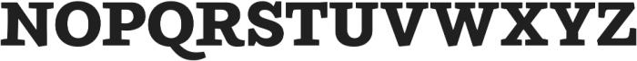 Ulises Extra Bold otf (700) Font UPPERCASE