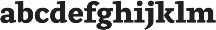 Ulises Extra Bold otf (700) Font LOWERCASE