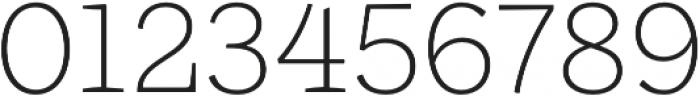 Ulises Extra Light otf (200) Font OTHER CHARS