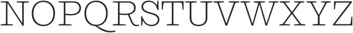 Ulises Extra Light otf (200) Font UPPERCASE