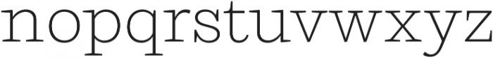 Ulises Extra Light otf (200) Font LOWERCASE