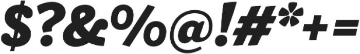 Ulises Heavy Italic otf (800) Font OTHER CHARS