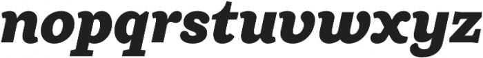 Ulises Heavy Italic otf (800) Font LOWERCASE