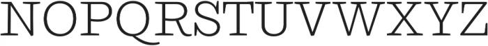 Ulises Light otf (300) Font UPPERCASE