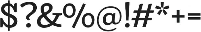 Ulises Medium otf (500) Font OTHER CHARS