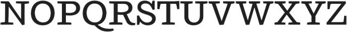 Ulises Medium otf (500) Font UPPERCASE