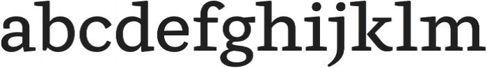 Ulises Medium otf (500) Font LOWERCASE