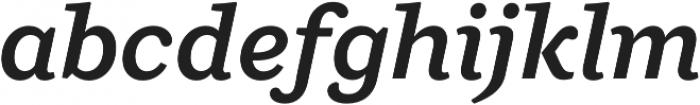 Ulises Semi Bold Italic otf (600) Font LOWERCASE