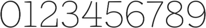 Ulises Thin otf (100) Font OTHER CHARS