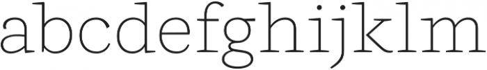 Ulises Thin otf (100) Font LOWERCASE