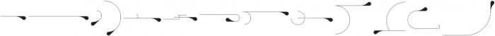 Ultimus Ornaments otf (400) Font LOWERCASE