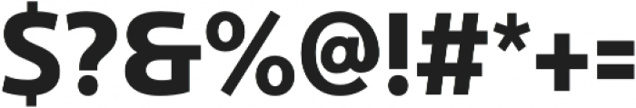 Ultine Cond Bold otf (700) Font OTHER CHARS