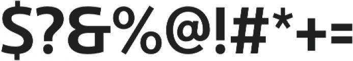 Ultine Cond Demi otf (400) Font OTHER CHARS