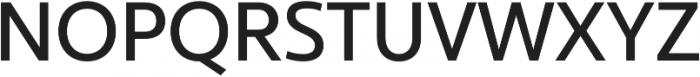 Ultine Cond Medium otf (500) Font UPPERCASE