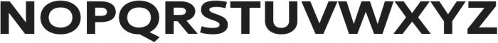 Ultine Ext Bold otf (700) Font UPPERCASE