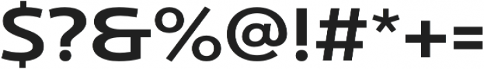 Ultine Ext Demi otf (400) Font OTHER CHARS
