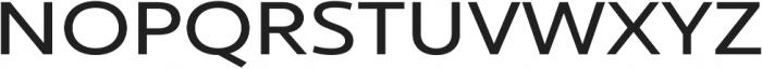 Ultine Ext Medium otf (500) Font UPPERCASE