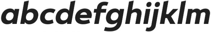 Ultine Norm Bold Italic otf (700) Font LOWERCASE