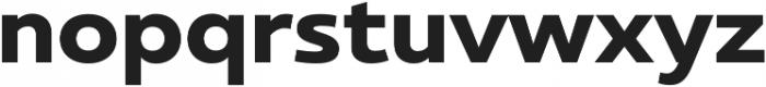 Ultine Norm Bold otf (700) Font LOWERCASE