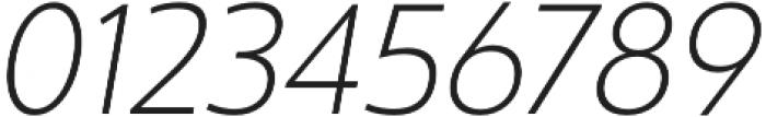 Ultine Norm Light Italic otf (300) Font OTHER CHARS