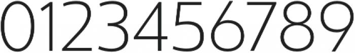 Ultine Norm Light otf (300) Font OTHER CHARS