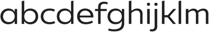 Ultine Norm Regular otf (400) Font LOWERCASE