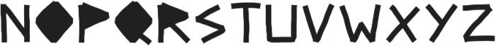 Ultra DM ttf (900) Font UPPERCASE