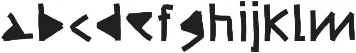 Ultra DM ttf (900) Font LOWERCASE