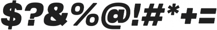 Ultra Italic otf (900) Font OTHER CHARS