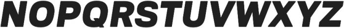 Ultra Italic otf (900) Font UPPERCASE
