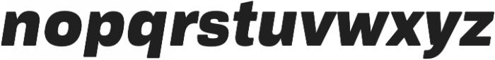 Ultra Italic otf (900) Font LOWERCASE
