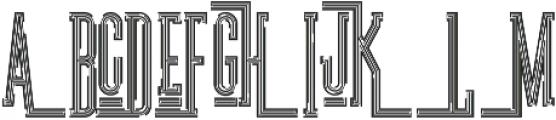 Ultra Regular otf (900) Font UPPERCASE