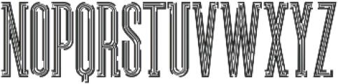 Ultra Regular otf (900) Font LOWERCASE