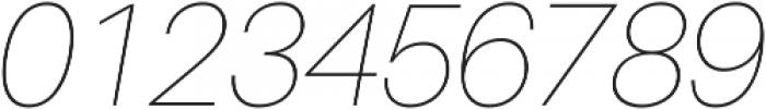 UltraLight Italic ttf (300) Font OTHER CHARS