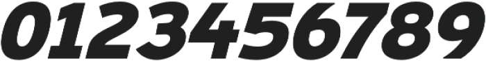 Ultraproxi Heavy Italic otf (800) Font OTHER CHARS