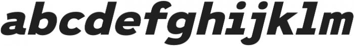 Ultraproxi Heavy Italic otf (800) Font LOWERCASE