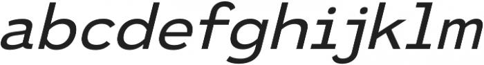 Ultraproxi Light Italic otf (300) Font LOWERCASE