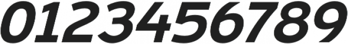 Ultraproxi SemiBold Italic otf (600) Font OTHER CHARS