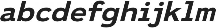 Ultraproxi SemiBold Italic otf (600) Font LOWERCASE